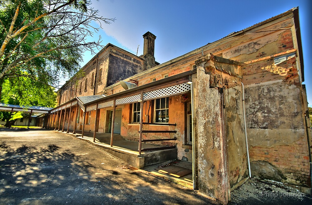 Bedlam - Beechworth Lunatic Asylum c1878 - The HDR Experience by Philip Johnson