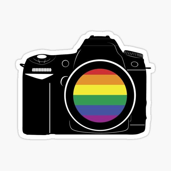 Gay Photographer Sticker