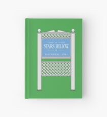 Stars Hollow Sign, Founded 1779 Hardcover Journal