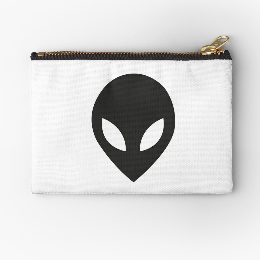 The face of the aliens Zipper Pouch