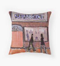 Shabbytat Throw Pillow