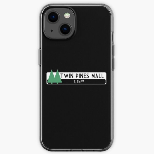 Twin Pines Mall logo (Back to the Future) iPhone Soft Case