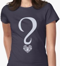 The Oldest Question in the Universe Women's Fitted T-Shirt