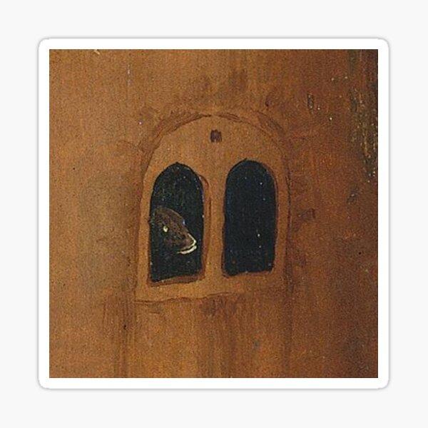 Hieronymus Bosch, the Haywain Triptych, panel painting, fragment, #HieronymusBosch, #HaywainTriptych, #panel, #painting, #fragment,  #Bosch Sticker