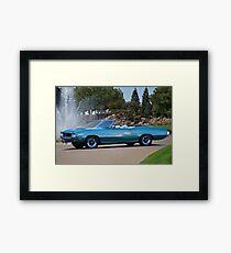 1970 Buick Grand Sport GS Convertible Framed Print