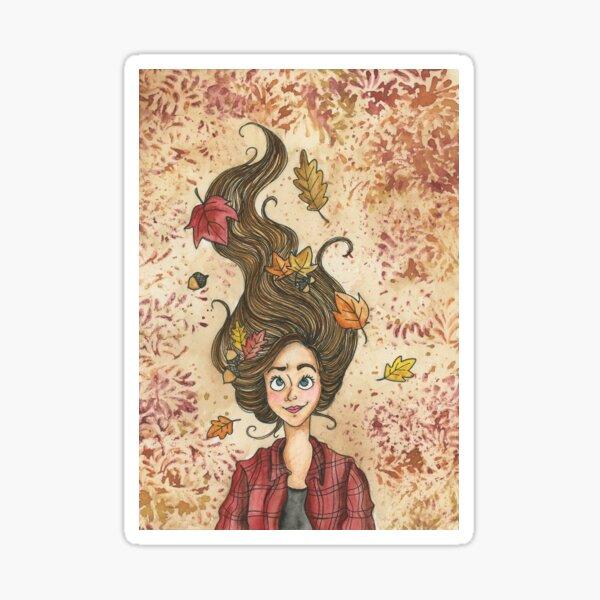 Autumn Breeze Sticker