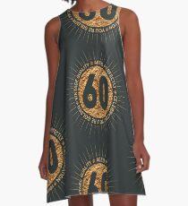HAPPY 60TH BIRTHDAY A-Line Dress