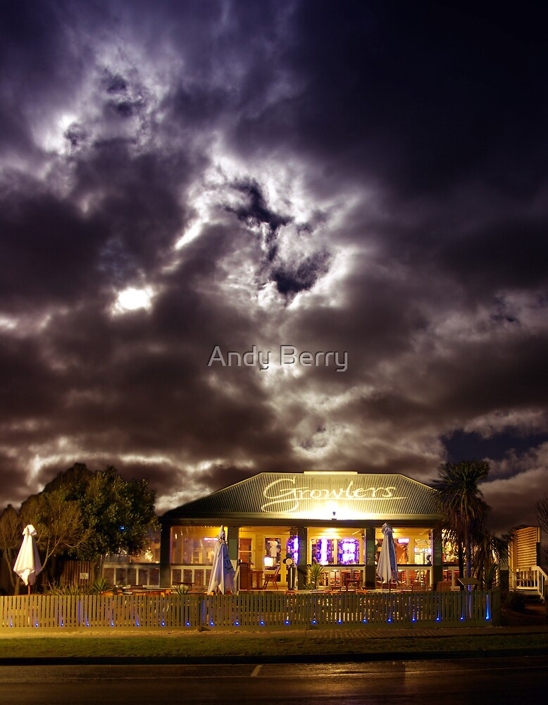 Growlers Restaurant, Torquay by Andy Berry