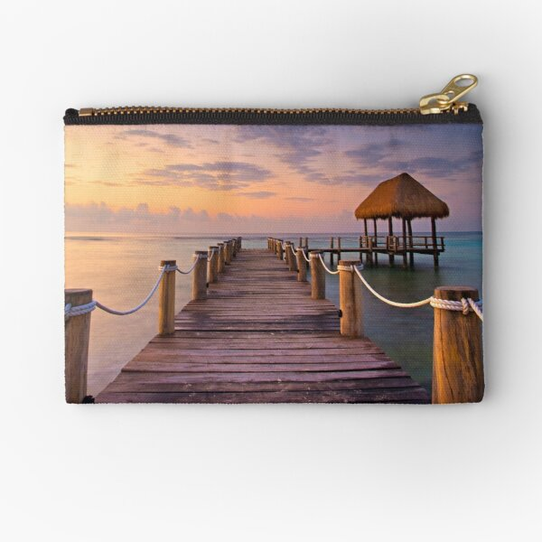 be grateful - Give Back To Nature Zipper Pouch