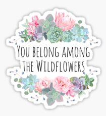 Tom Petty Wildflowers Sticker