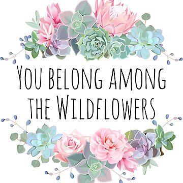 Tom Petty Wildflowers by MissClaraBow