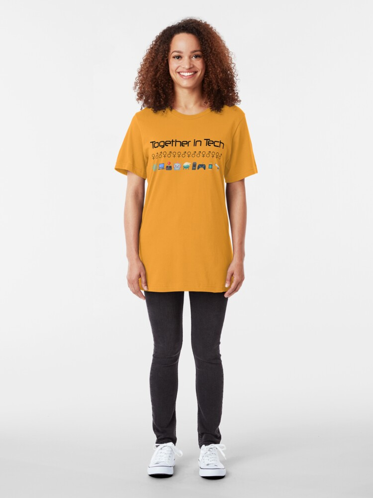 Alternate view of Together in Tech Slim Fit T-Shirt