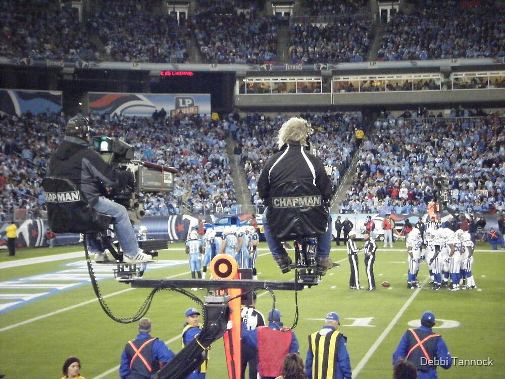 Titans Camera Men by Debbi Tannock