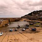 Mousehole Harbour by John Wallace