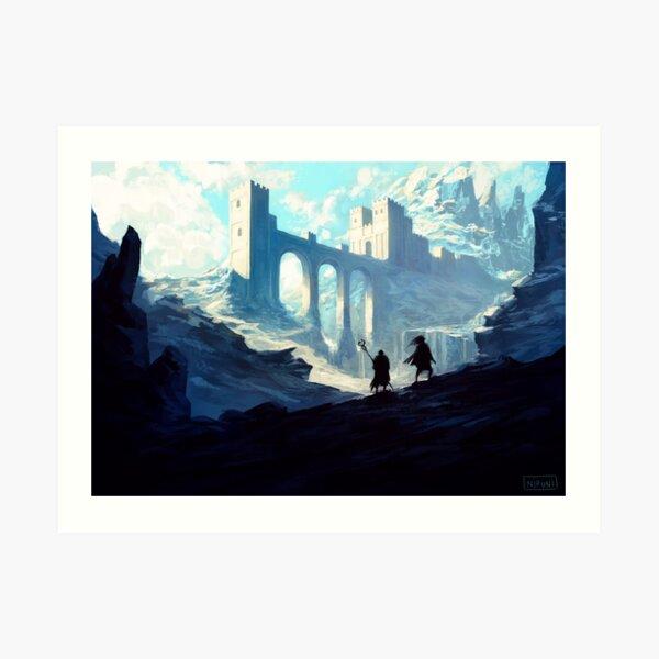 Skyhold Art Print