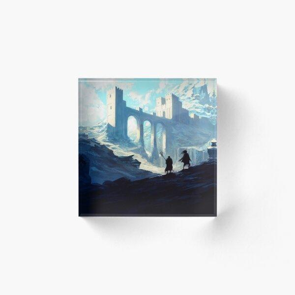 Skyhold Acrylic Block