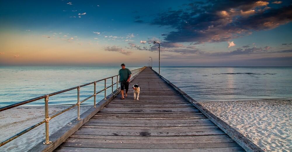 Rosebud Pier by Matt Bishop