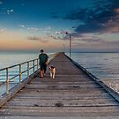 Rosebud Pier by Matt Bishop