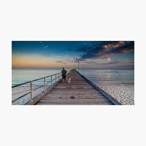 Rosebud Pier Photographic Print