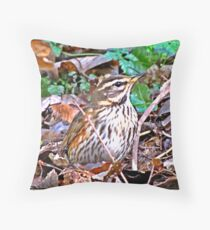 """"""" This Rock Pipet was well Hidden in  the undergrowth"""" Throw Pillow"""