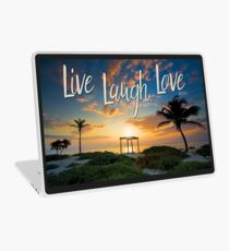 Live Laugh Love - Give Back to Nature Laptop Skin