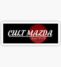 Cult Mazda Sticker