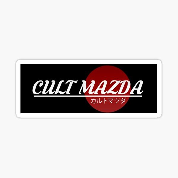 Culte Mazda Official Slap Sticker fini brillant