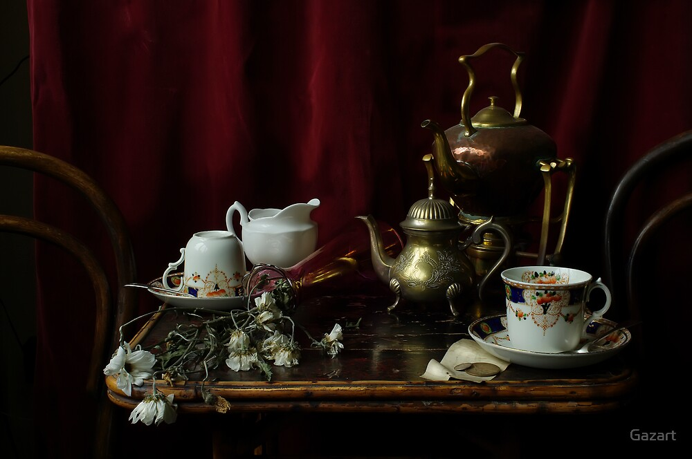 Tea for One by Gazart