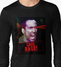 Nicolas Cage Rage! Long Sleeve T-Shirt