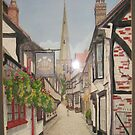 Worcester watercolour by coolart