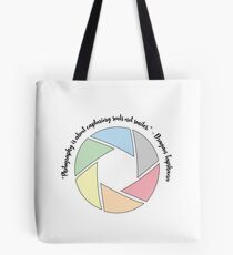 Photography Captures Souls Tote Bag