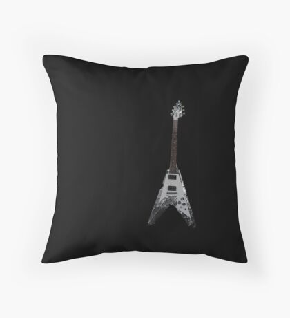 cold music Throw Pillow