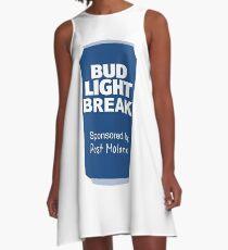 bud light break A-Line Dress