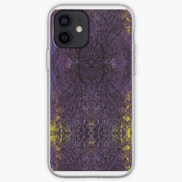 Gothic Thistle iPhone Soft Case
