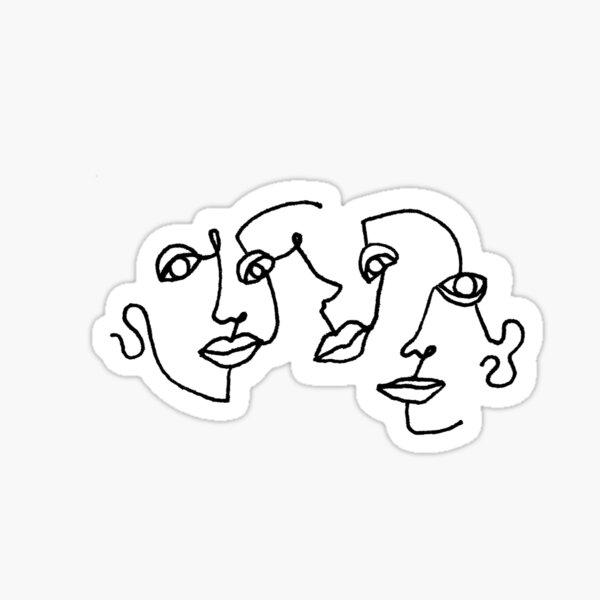 3FACED Sticker