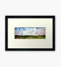 Open Plains Framed Print