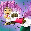 Chisaki shurian fighter by AnimeGamerGirl