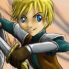 Lyon templar knight by AnimeGamerGirl