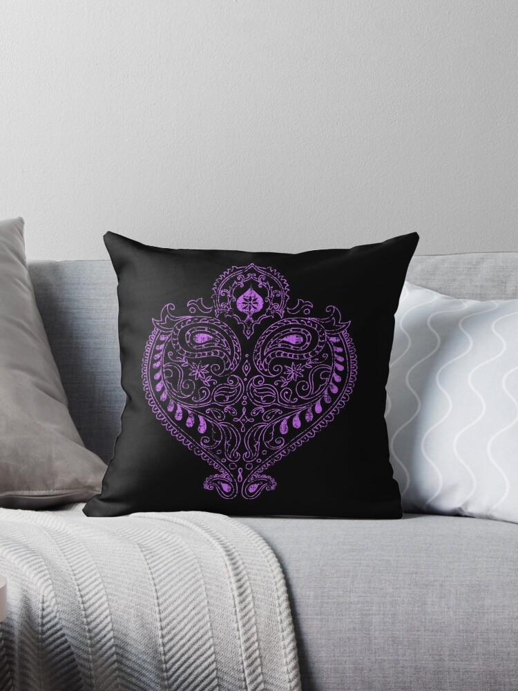 Exotic Purple Indian Heart by ArtVixen