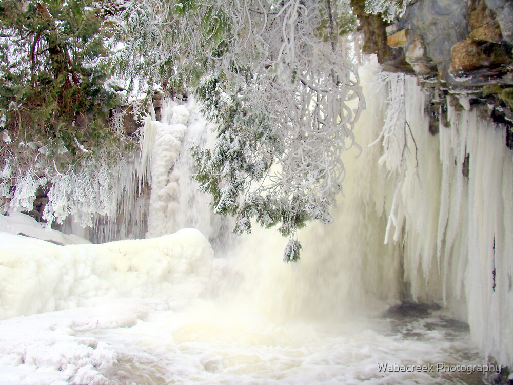 Frozen Waterfall by Jocelyne Phillips