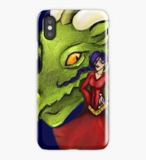Dealing with fantasy iPhone Case