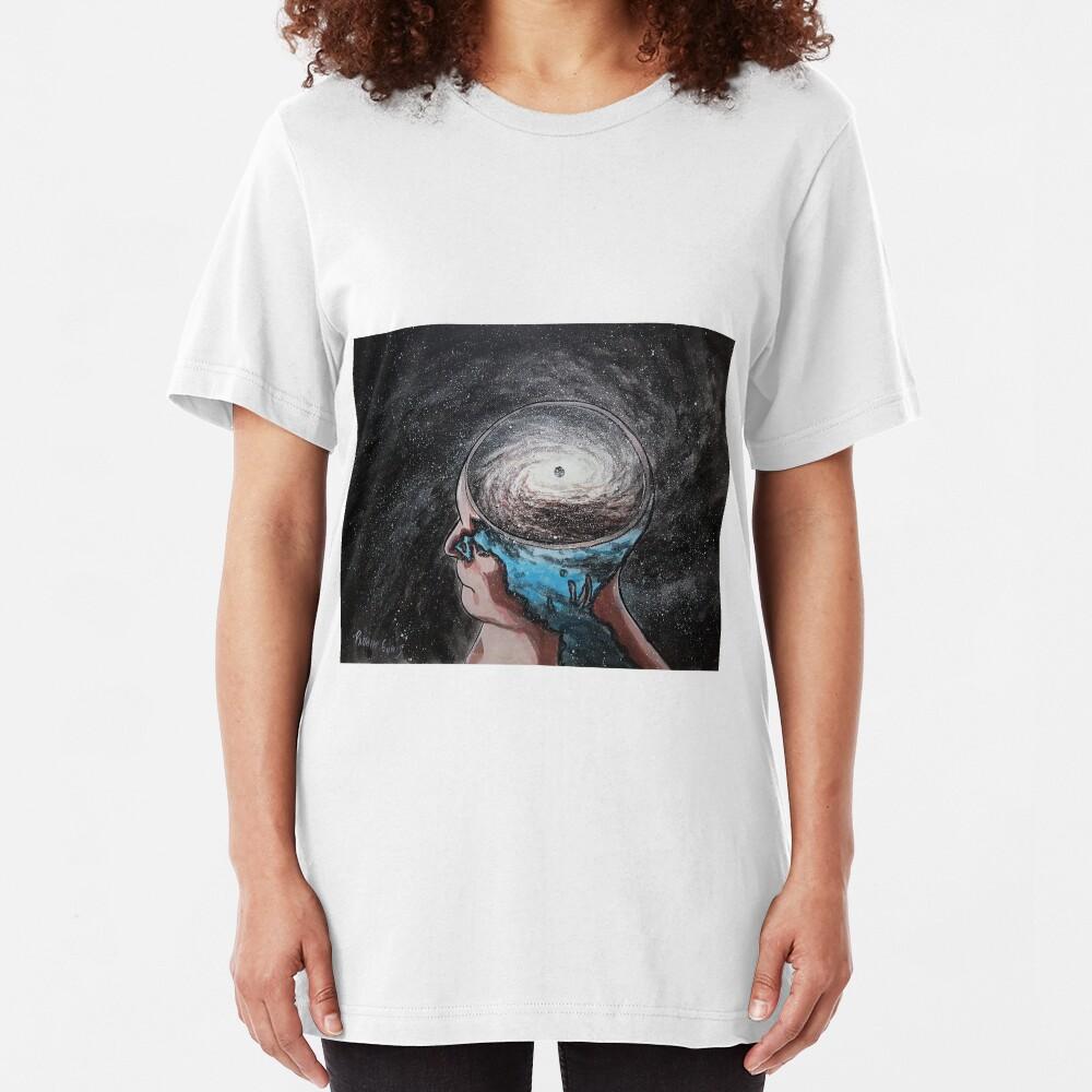 brain wash Slim Fit T-Shirt