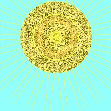 Mandala-Sun by Black-kat