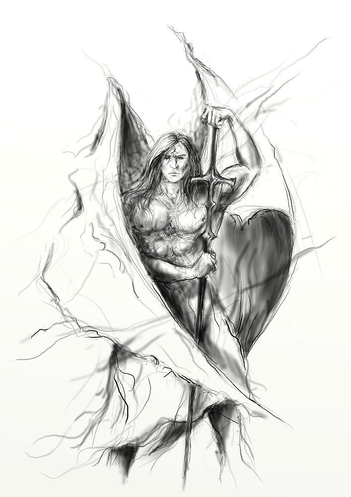 Angel by Grzegorz
