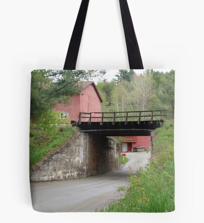 The Red Mailbox Tote Bag