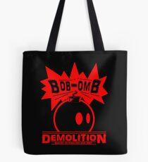 Bob-Omb Demolition red Tote Bag