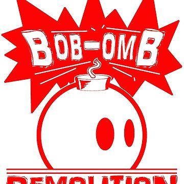 Bob-Omb Demolition red by MightyRain