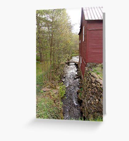 Brookside Barn Greeting Card