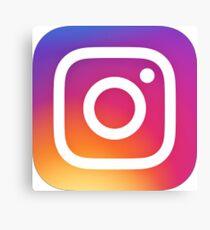 Instagram (Logo) Leinwanddruck
