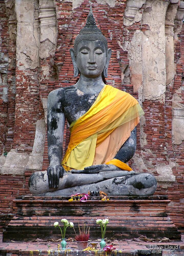 Ancient Buddha by Dave Lloyd
